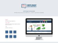 Gkfx daily branding work