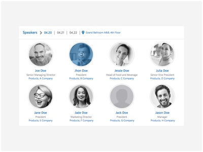 Commer Agenda Speakers Section istanbul turkey events shanghai china speakers ux ui