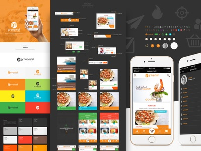 GroupMall Wechat Store app mobile design ux ui wechat wechatstore china