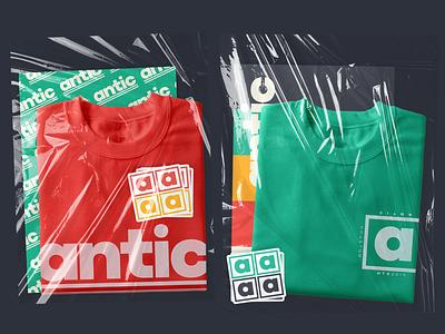 antic logo & branding branding design typography logo vector