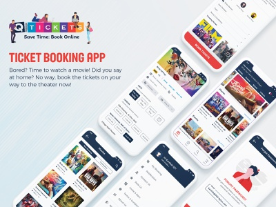 Movie | Events Booking App mobile app web offers listing page booking history diwali detail page menu booking confirmation summary signin sign up forgot password ticket cinema ticket booking karthik n s qtickets event booking movie booking