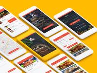 Food Court App Design