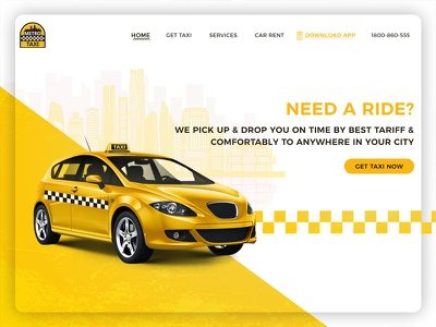 Need A Ride? pick up  drop ride rent car flat webdesign trendy page icon vector metro taxi taxi website design webpage ux ui landing page branding landing illustration design