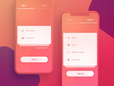 Pay App Sign In & Sign up Screen userinterface forgot password password pay app login design sign up sign in minimal app mobile minimal trendy branding ux design ui