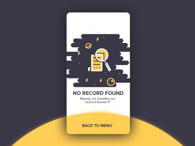 No Record Found 😒 error empty search no data record no record found mobile app searching found menu no record icon e-commerce trendy design illustration ux ui