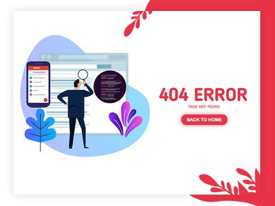 404 Page not exist kihtrak designs uiux busy lost error page bugs bugs error hunt search error 500 page not found back to home landing illustration 404 page 404 error 404 error page lost page 404