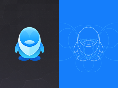 QQ SNS qq tencent see visual icon phone android theme meizu blue penguin guideline