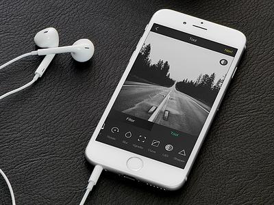 iOS Tool UI & APP see visual icon xigua 365 ios tool ui photo filter picture app