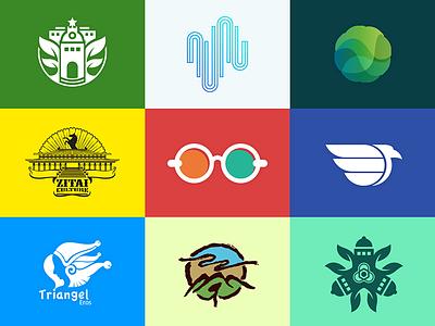 Logo&Graphic see visual graphics logo glasses color nine