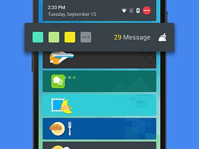Anti Disturb notificaiton see visual cleanmaster anti disturb android google icon