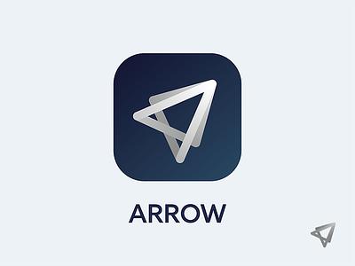 Arrow see visual graphics logo icon arrow swipe fast