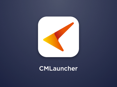 Launcher Icon logo ui font launcher visual see smooth cool speed