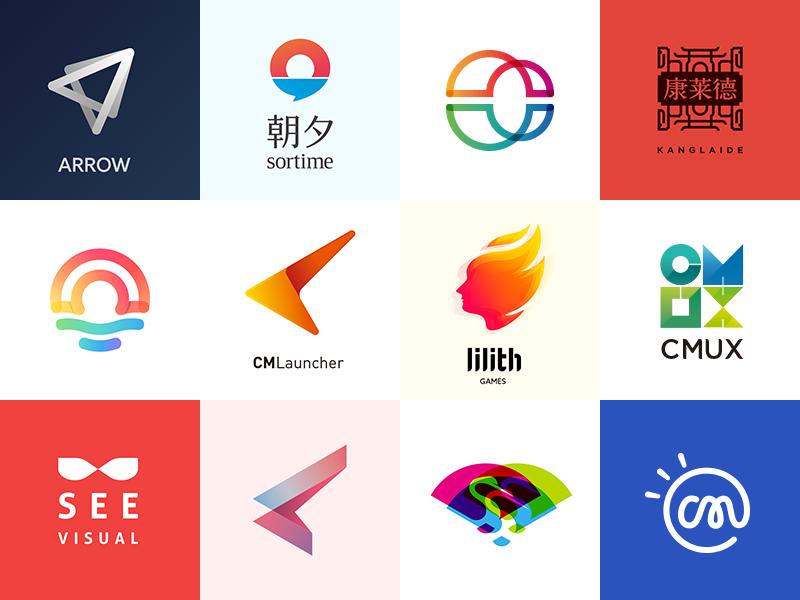 Logo&Graphic icon color glasses logo graphics visual see