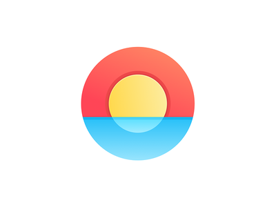 Sunrise sunrise icon graphics brand logo visual see