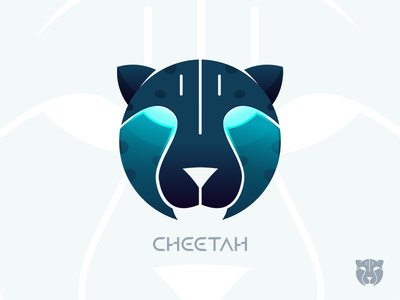 Cheetah see cheetah visual logo future ai smart technology graphics icon keyboard