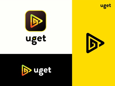 Uget - Logo Concept vector design color app logo graphics visual