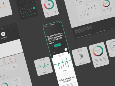Betsmart mobile minimal web ui dashboard design modern crypto dark black betting bets bet sport statistic stats dashboard ui dashboard