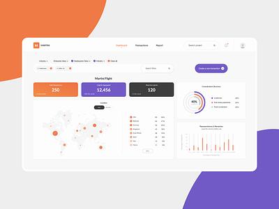 Martini app mobile interface app concept modern minimal graphics infographics dashboard ui dashboard