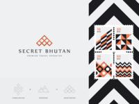 Secret Bhutan. Logo & Branding