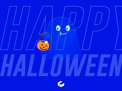 Happy Halloween halloween branding motion graphics graphic design animation