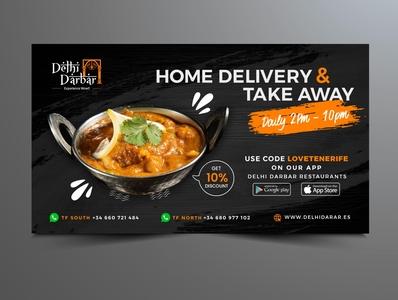 Restaurant  Advertisement design graphic design social media design facebook ad design