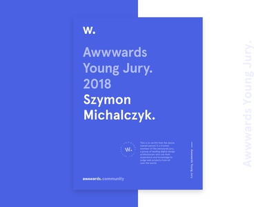 Awwwards Young Jury 🏆