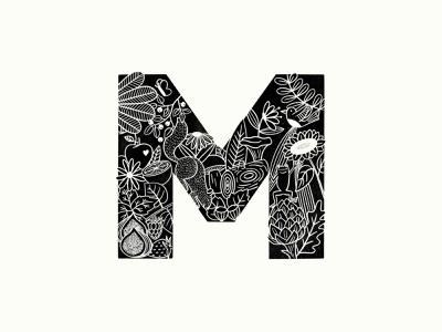 Restaurant's branding and logo designs - Mother letter mark monogram letter design restaurant logo identity logo logo design branding restaurant branding