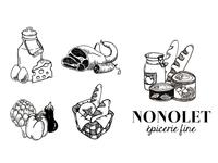 Nonolet - branding