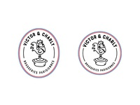 Logo design for Victor et Charly