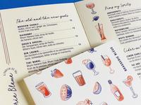 Printed menus !