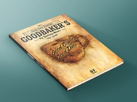 Goodbaker´s - Book Cover made with coffee - Mixed Media