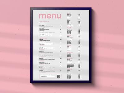 Fūdo Menu design print design sushi branding affinitypublisher print menu