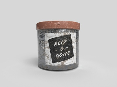 Acid -B- Gone speculative design 3d model
