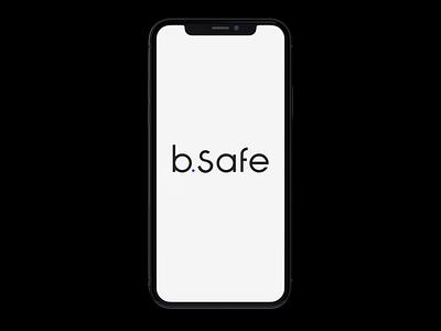 bsafe UI interactive user interface uidesign app clean motion medical app medical