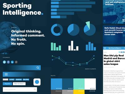 Sporting Intelligence: Brand Assets