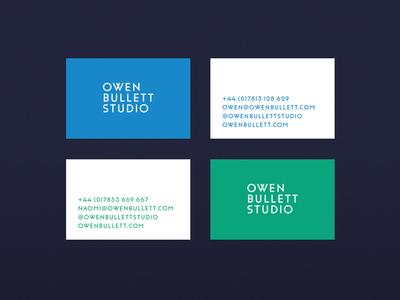 Owen Bullett Studio: Stationery