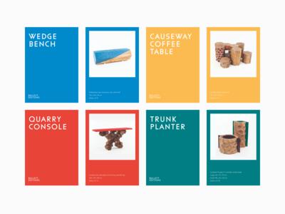 Bullett Editions: Catalogue Cards