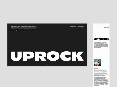 Uprock dot com