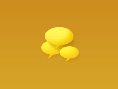 Speech Bubbles speech bubble illustration icon web