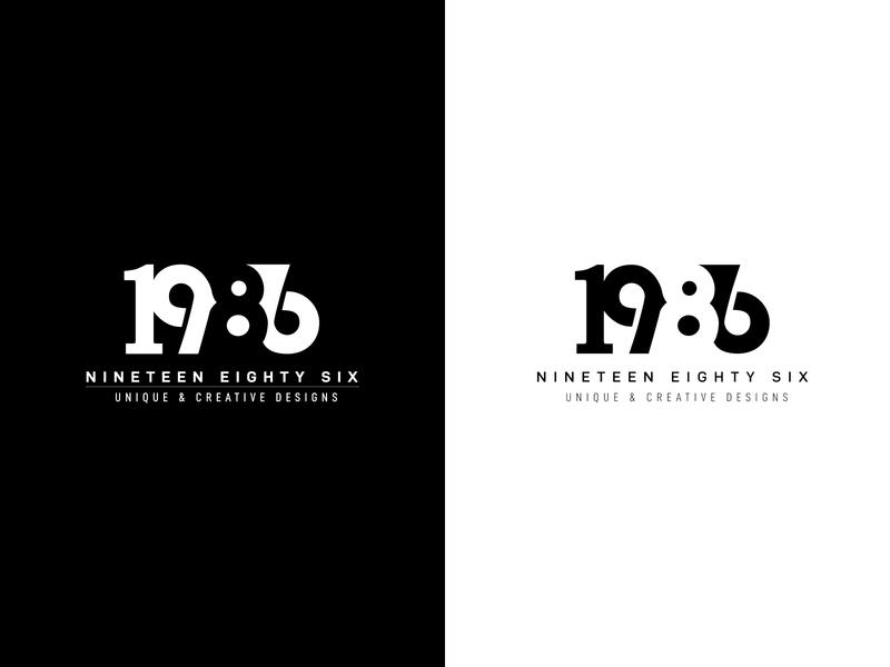 1986 logo design logo