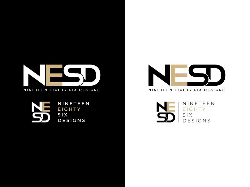 NESD logo design logo