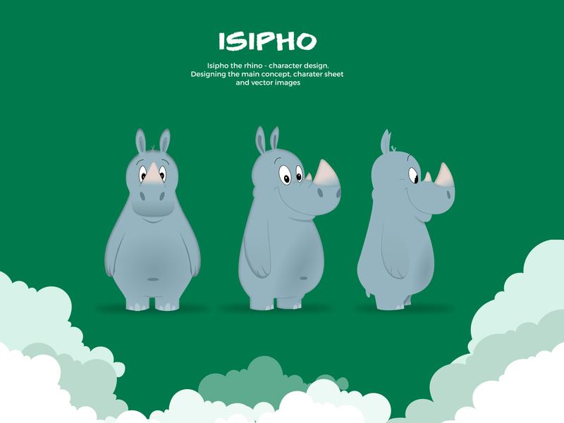 Isipho - SATSA Mascot charater design charater mascot