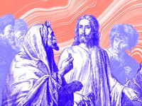 Holy week   dribbble   tuesday
