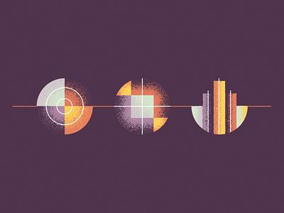 Discipleship Icons vector design illustration church line circle texture icons
