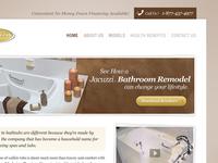 Walk in Bathtubs website