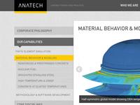 Anatech sub navigation