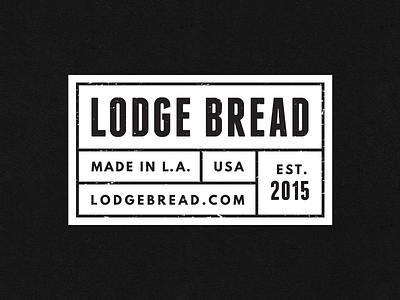 Bread Label label logo bread food tag typography distressed