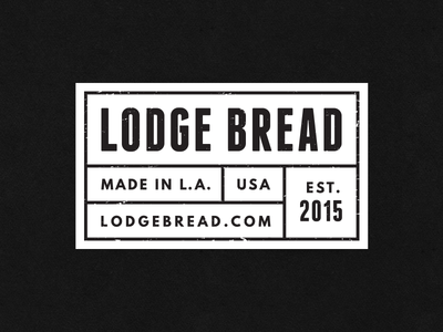 Bread Label label logo bread food tag typography distressed