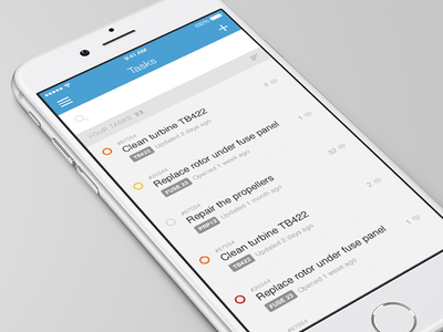 Task list to do checklist interface design ui asset priority list task fixd