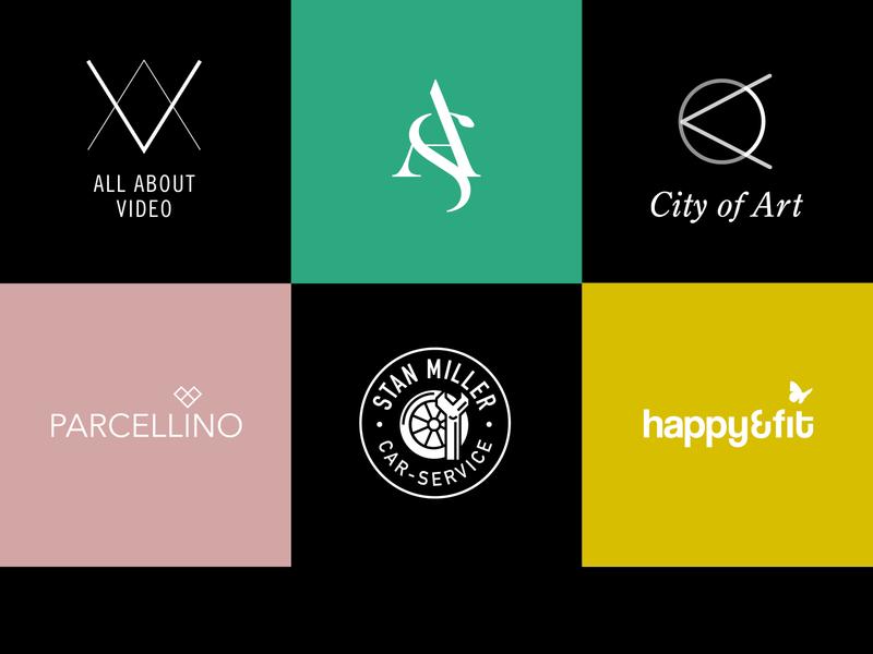 Logofolio vector minimalist logo branding minimal ci logo design